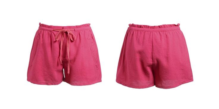 Short cordón en rosa