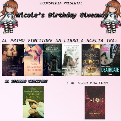 bookspedia: Nicole's birthday giveaway ♥