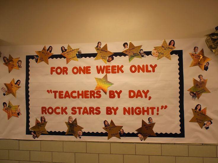 Teacher Appreciation - Teachers by Day, Rock Stars by Night