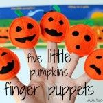 5 for 5,000: 5 Little Pumpkins Puppet Set Giveaway