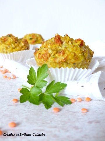 Cake lentilles corail sans gluten
