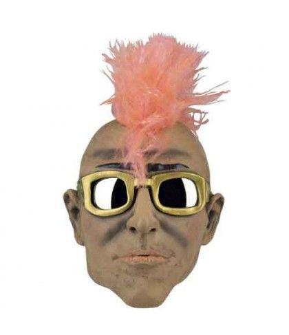 Μάσκα Punk Λάτεξ Με Γυαλιά