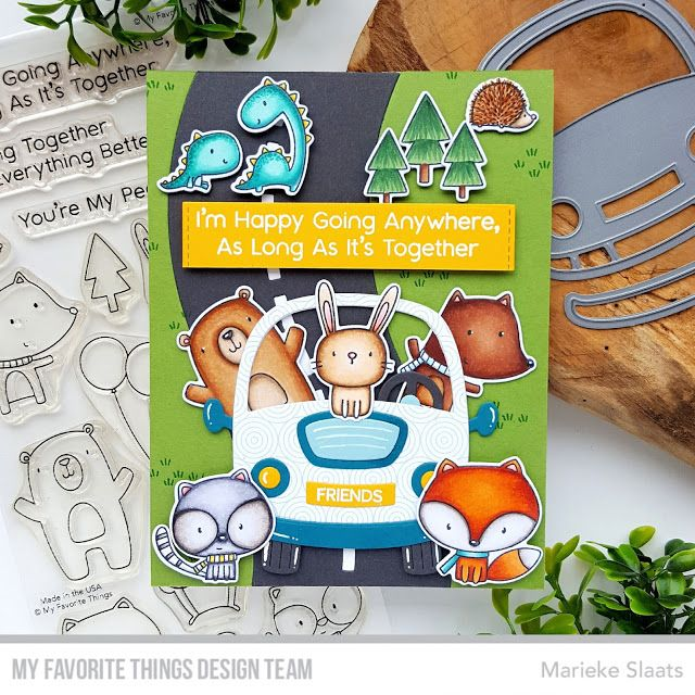 Marieke: MFT Better Together CardKit Release Countdown day 2 in 2020 |  Better together, Card kits, Mft stamps
