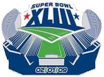 Super Bowl XLIII (43) Raymond James Stadium Pin