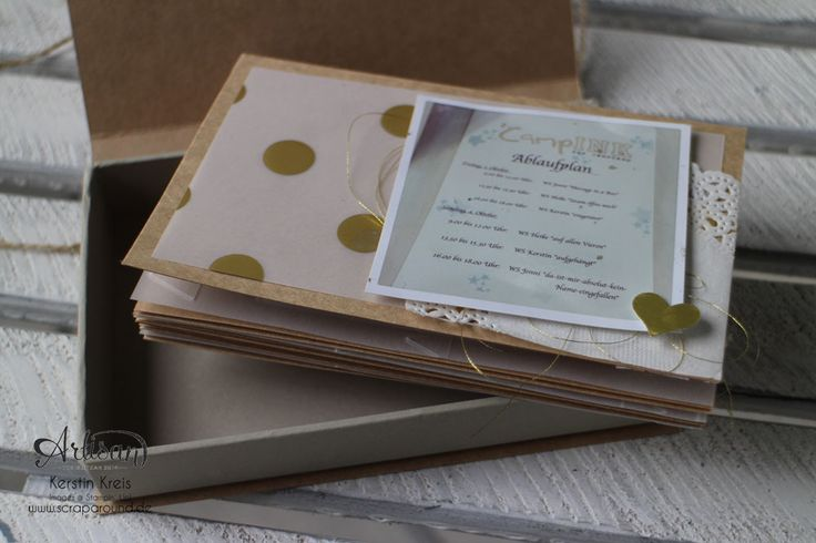 Memories in a Box with the great Craft Cardstock, it´s gorgeous/inside - Kerstin Kreis