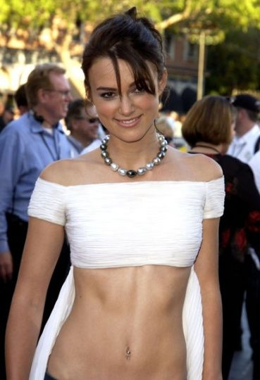 "Keira Knightley: ""Pirates of The Caribbean: The Curse of The Black Pearl"" World Premiere - 06.28.03"