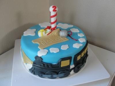 Polar Express Birthday By mazdamoose on CakeCentral.com