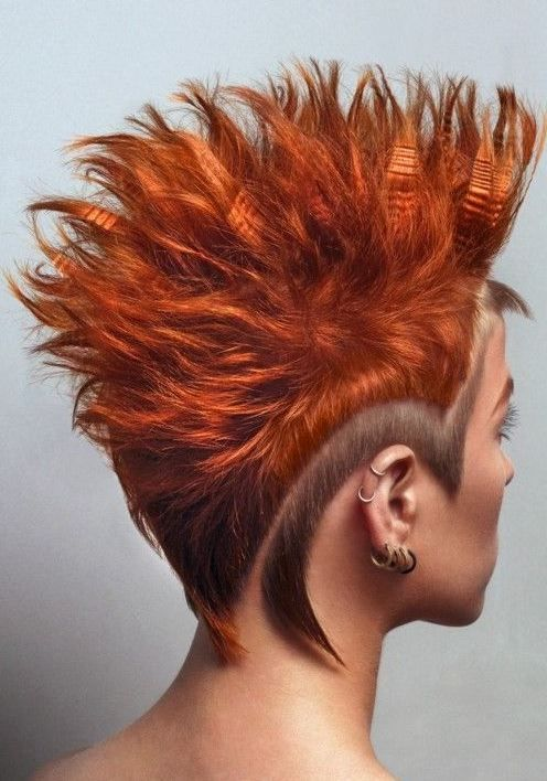 The best 12 Mohawk hairstyles for men and women