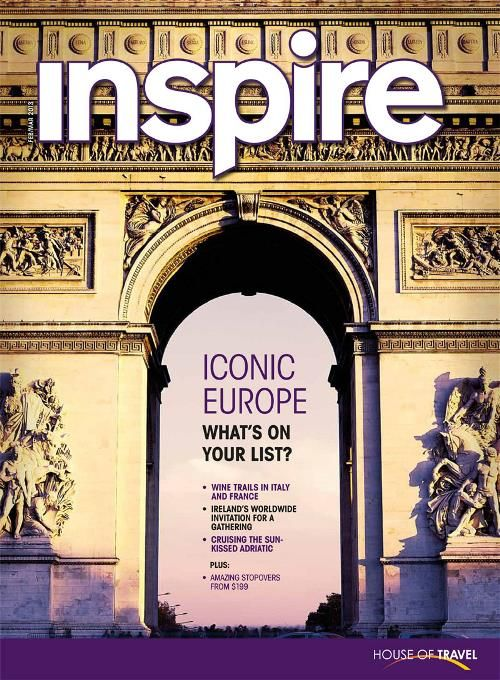 What's on your list? Discover iconic Europe in House of Travel's Inspire Magazine.