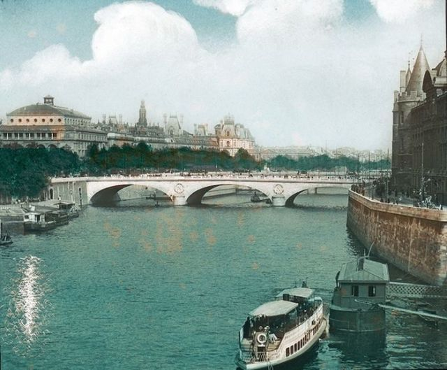 paris then and now