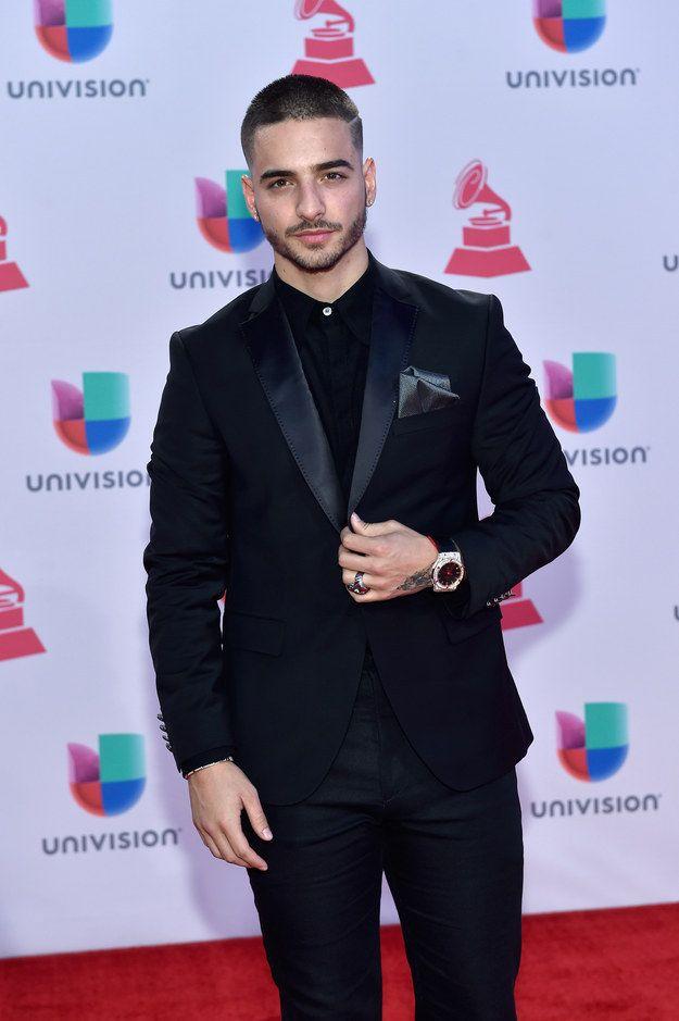 Maluma.   13 Hombres de los Grammy Latinos que fueron más deseados que el mismo premio
