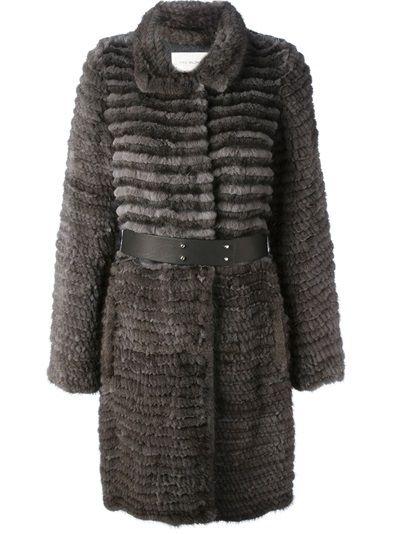 YVES SALOMON - belted coat 8