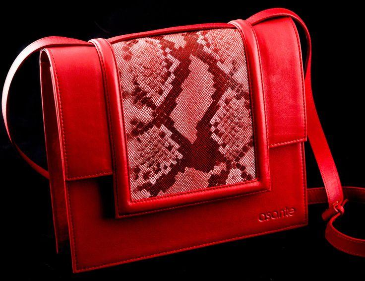 Tedesca shoulder bag by asantehandbags on Etsy