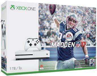 Xbox One S 1TB Console Madden 17 Bundle $314.99 #LavaHot http://www.lavahotdeals.com/us/cheap/xbox-1tb-console-madden-17-bundle-314-99/114410