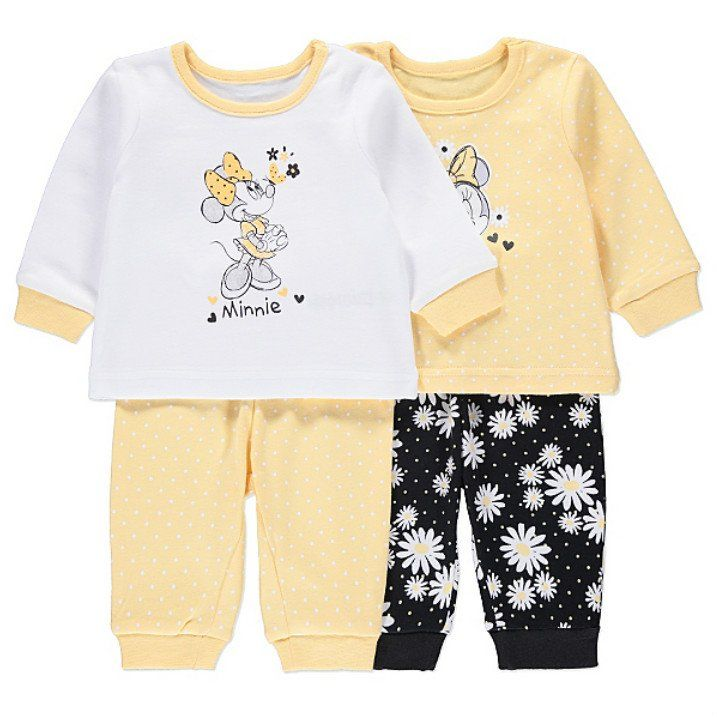 Disney Minni Hiiri vauvan pyjamat 2 pack