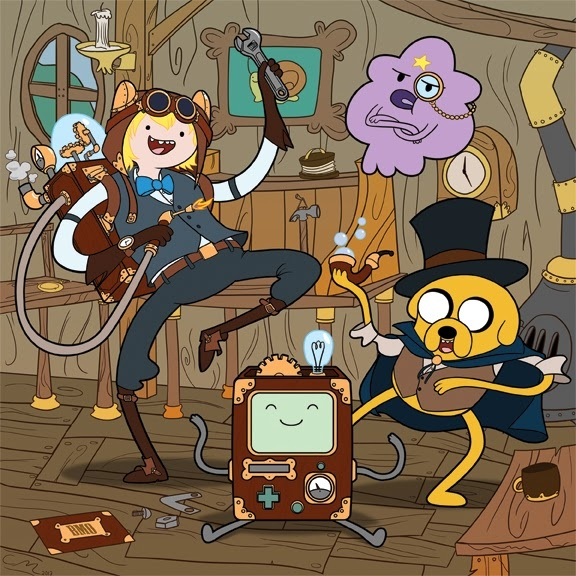 Doesn't really go in the craft section but I had no other place and Adventure Time is a must repin.