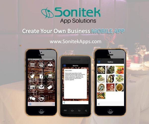 Connecting with your customers is convenient through a #MobileApp. Know more here: http://www.sonitekapps.com/restaurants-mobile-app-toronto.php