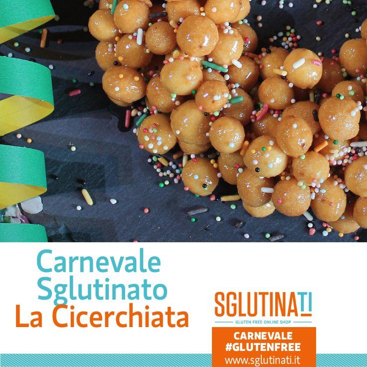 """Ed ecco a voi la seconda ricetta per un Carnevale Sglutinato.  Vi presentiamo """"La Cicerchiata"""". La Cicerchiata è un dolce tipico italiano,diffuso nelle regioni dell'Abruzzo, Marche, Molise, ed è legato alla ricorrenza del Carnevale.  Scopri qui la ricetta per provare le bontà carnevalesche delle regioni italiane:http://ow.ly/Xjhgb  #senzaglutine #celiachia #glutenfree #sglutinati #foodglutenfree #foodpic #ricette #carnevalesglutinato #sglutinati"""