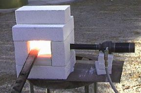 larger propane forge