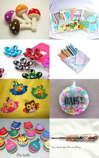 Color My World by KnitWhats on Etsy--Pinned with TreasuryPin.com