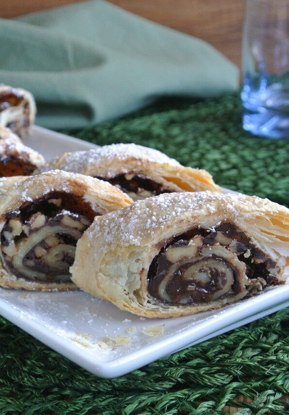 Mother's Chocolate Strudel