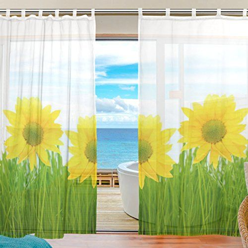 117 best images about sunflower curtain on pinterest for Sunflower bedroom decor