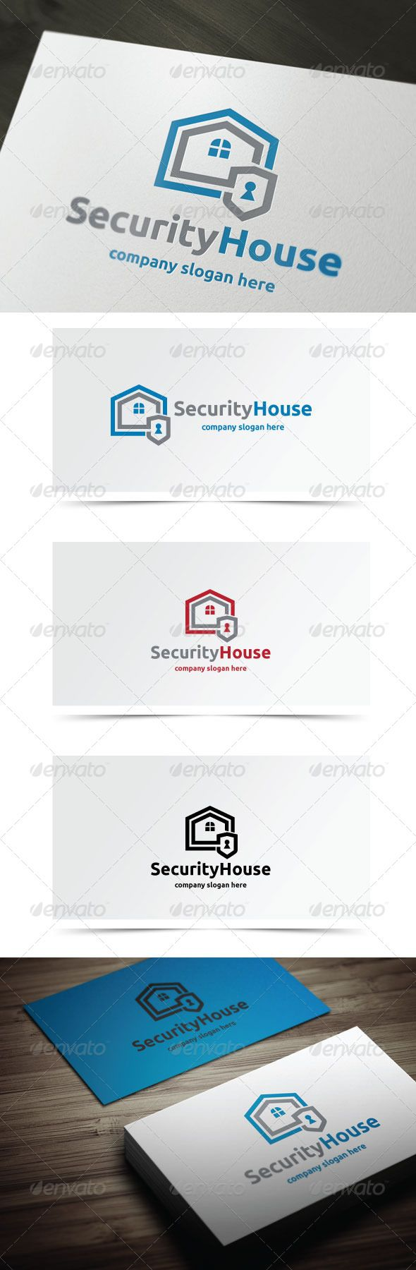 Security House Logo Design Template Vector #logotype Download it here: http://graphicriver.net/item/security-house/6280973?s_rank=867?ref=nexion