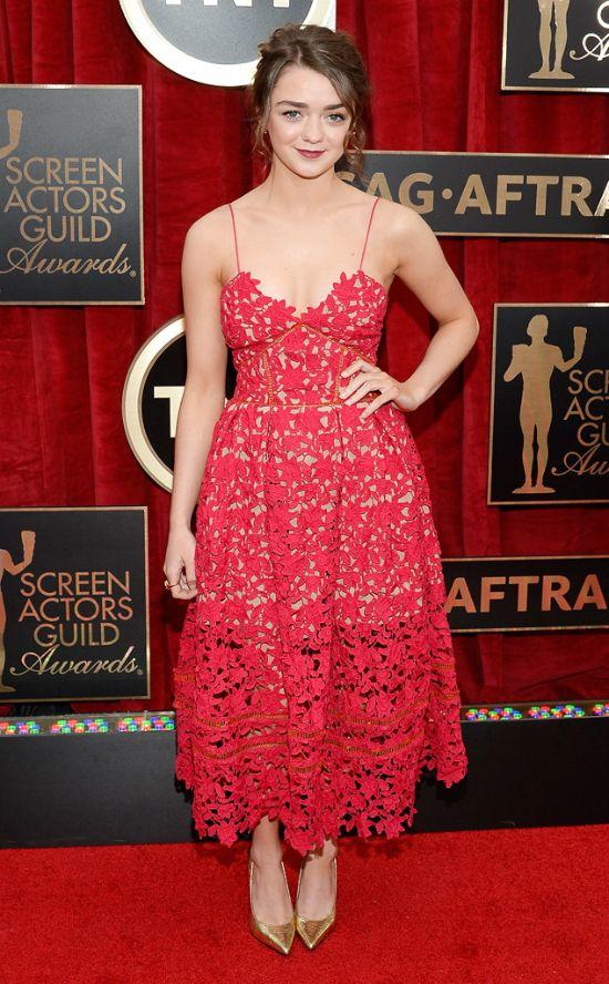 Maisie Williams - SAG Awards 2015