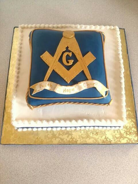 Masonic Lodge cake