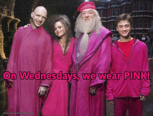 mean girls and harry potter. HAH