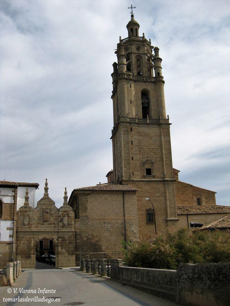 IGLESIA DE SANTA MARÍA Los arcos, Navarra, Spain