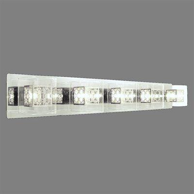 DVI DVP5855CH 5 Light Trilogy Bathroom Light, Chrome
