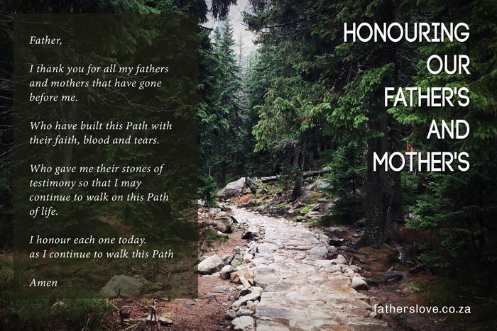 Honouring Our Fathers and Mothers