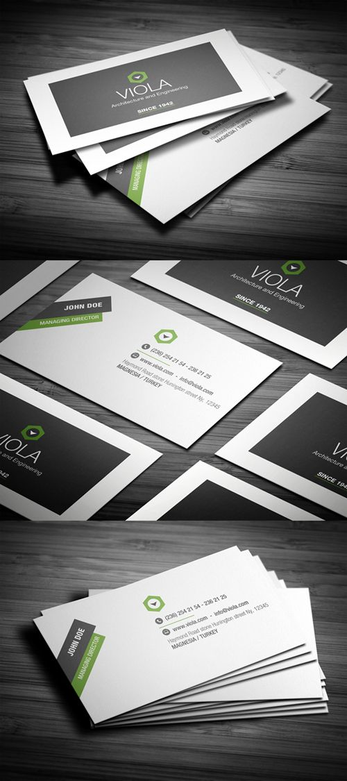 26 Designers Business Card PSD Templates - 22