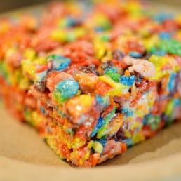 Fruity pebble bars