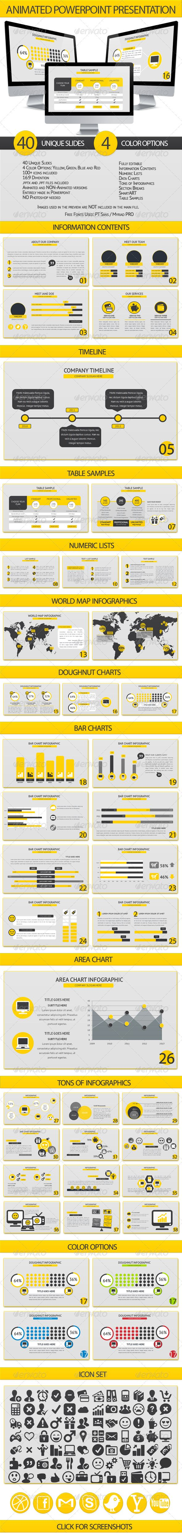 Animated Powerpoint Presentation - Business Powerpoint Templates