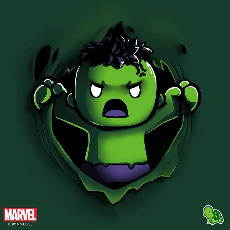 Hulk Animated Fan Art Little Hulk By Teeturtle