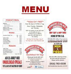 Knucklehead Hot Dog Diner- 7456 Foothills Blvd Roseville CA (MVF)