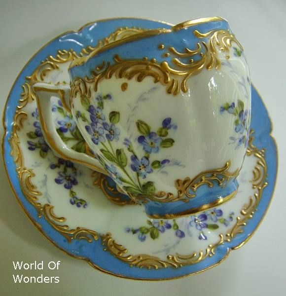 HOME DECOR ~ CHINA ~ TEA PARTY ~ BLUE AND WHITE