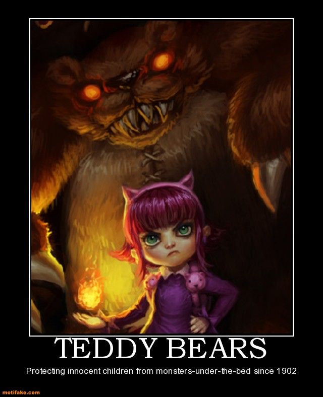 League of Legends. Annie and her bear Tibbers.