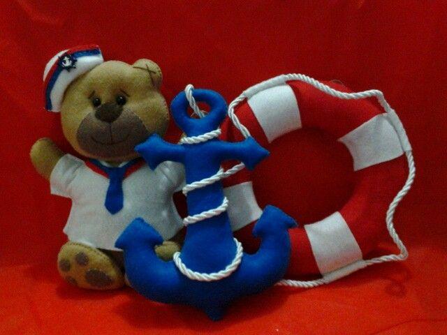 Adoro produzir esse kit marinheiro...  Encomendas e informações: e_artesanato@hotmail.com