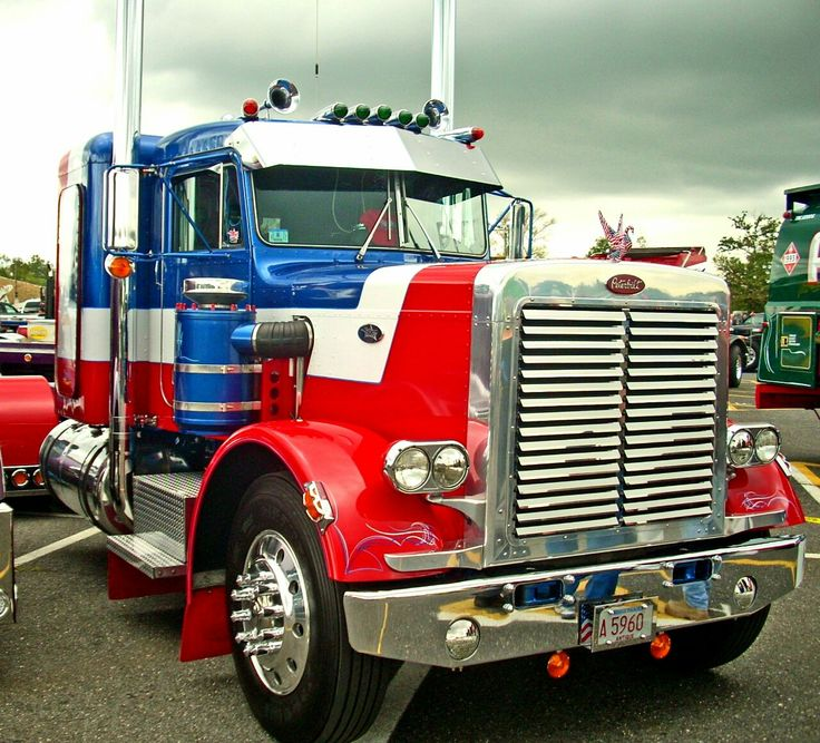 41 Best Red, White, And Blue American Trucks Images On