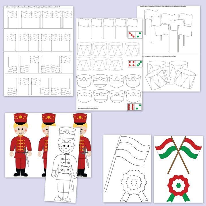 Ovis feladatok és játékok március 15-re. http://webshop.jatsszunk-egyutt.hu/shop/marcius-15-jatekcsomag/