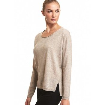 Mela Purdie Cruise Sweater The Mela Purdie cruise sweater is lightweight enough to take you through the seasons. Cut with a slightly loose fit that makes this style great for day or night. Layer yours over any Mela essential tank or top and pair back to a slim leg for ultimate style and ease. 100% Pure Italian Wool
