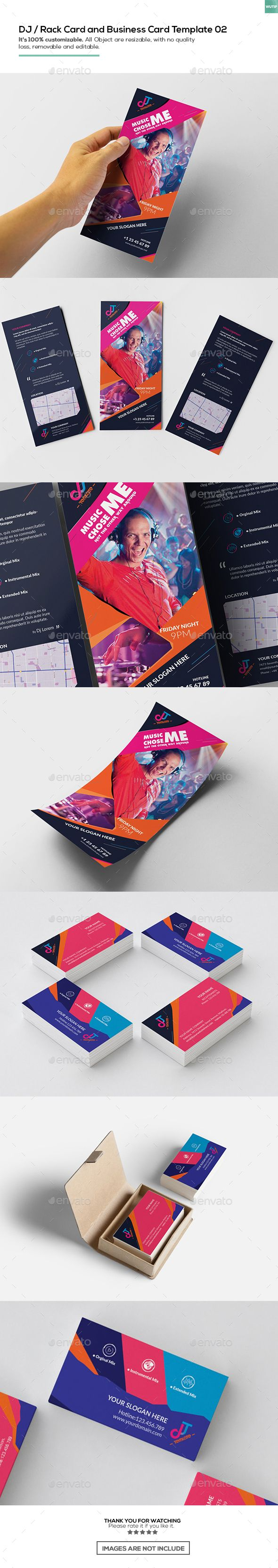 260 best templates images on pinterest flyer template geometry dj rack card and business card template 02 alramifo Images
