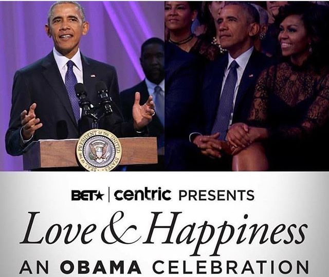 11/15/2016 OBAMA'S WORLD: Final WhiteHouse Concert On 10/29/2016 Will Air On BET Channel On Check Your Local Listing A six-page program for the event, titled Love and Happiness.