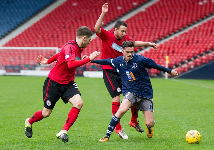 Queen's Park's Aidan McIlduff in action during the Ladbrokes League One game between Queen's Park and Brechin City