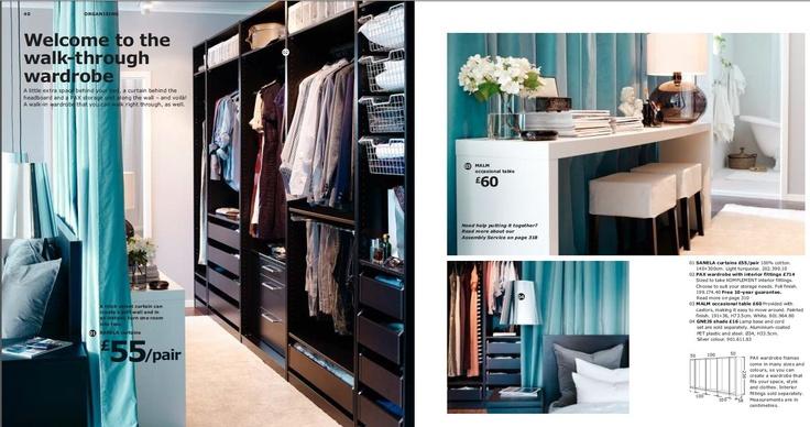 Soft wall wardrobe
