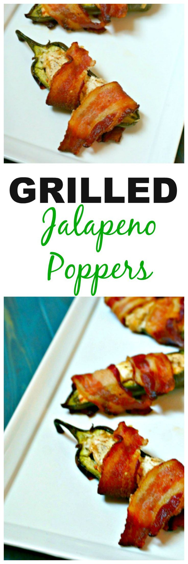 Grilled Jalapeno Poppers: Spicy jalapenos are stuffed with a smoky ...