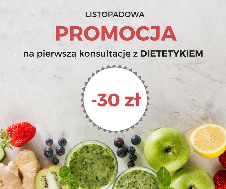Promocja na pierwszą konsultację dietetyczną